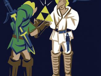 Star Wars & The Legend of Zelda Mashup T-Shirt