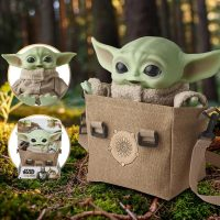Star Wars The Mandalorian Baby Yoda Premium Plush Bundle