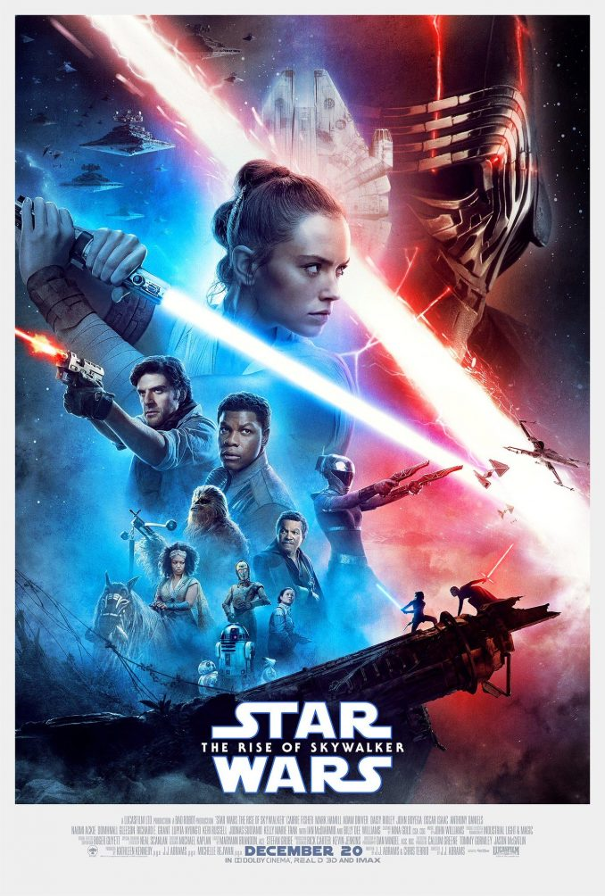Star Wars The Rise of Skywalker Movie Poster