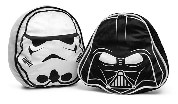 Star Wars Throw Pillow Set - Darth Vader & Stormtrooper