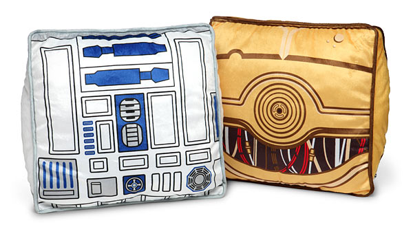 Star Wars Throw Pillow Set - R2-D2 & C-3PO