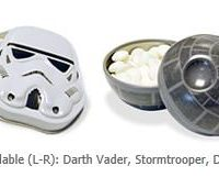 Star Wars Tin Containers with Mints