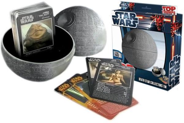 Star Wars Top Trumps Death Star Collectors Tin