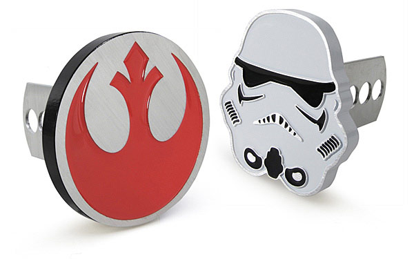 Star Wars Trailer Hitch Cover