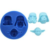 Star Wars Trio Silicone Mold