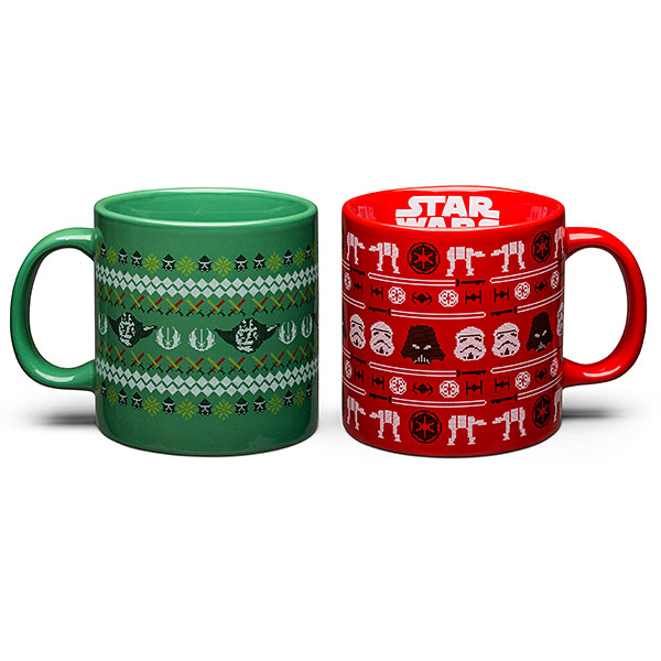 Star Wars Ugly Sweater Mugs