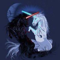 Star Wars Retold by Unicorns T-Shirt