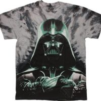 Star Wars Vader Arms Crossed Tie-Dye T-Shirt