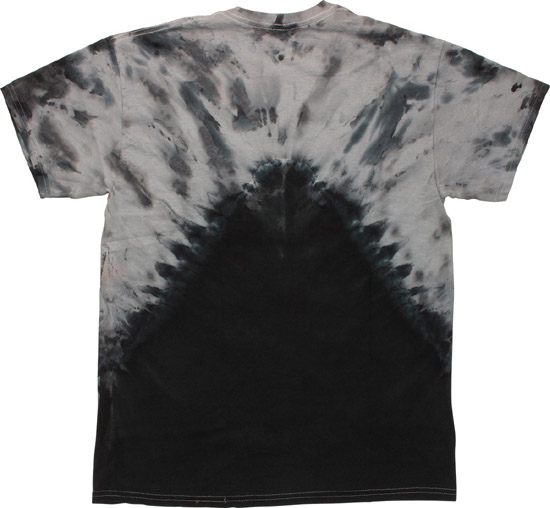 Star Wars Vader Arms Crossed Tie-Dye T-Shirt Back