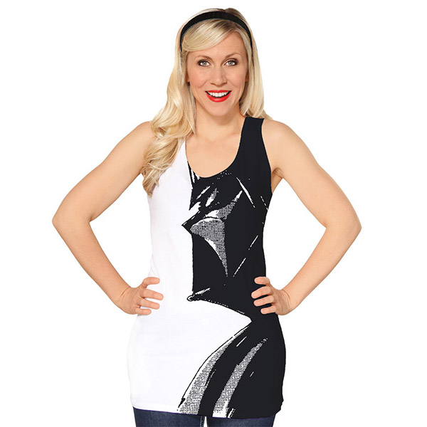 Star Wars Vader Black and White Tank Top
