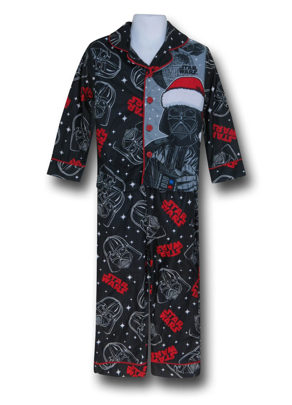 Star Wars Vader Santa Kids Pajama Set