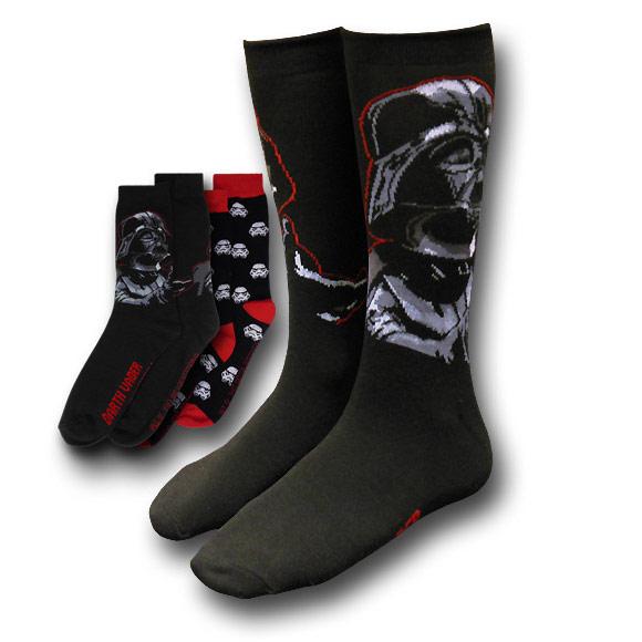 Star Wars Vader and Mini Troopers Socks