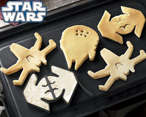 Star Wars Vehicles Pancake Molds
