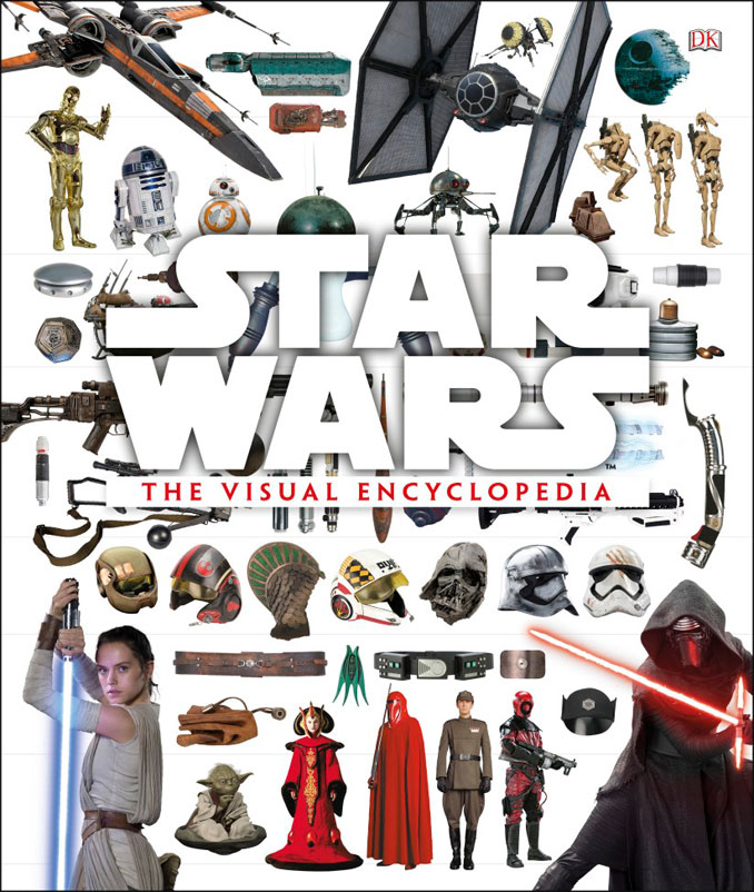 Star Wars Visual Encyclopedia Hardcover Book
