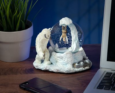 Star Wars Wampa Cave Snow Globe