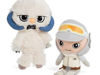 Star Wars Wampa and Hoth Luke Plush Set