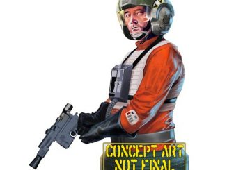 Star Wars Wedge Antilles Mini Bust