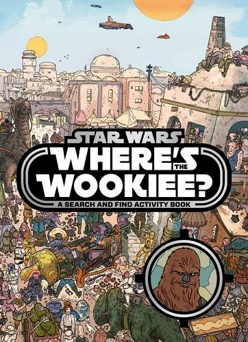 Star Wars Wheres the Wookiee Search and Find Book