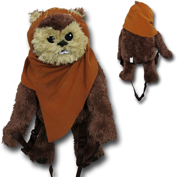 Star Wars Wicket Ewok Backpack Buddy