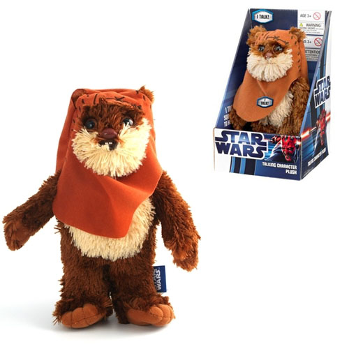 Star Wars Wicket Talking Plush
