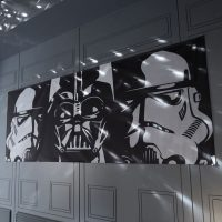 Star Wars Wide Panoramic Wall Mural