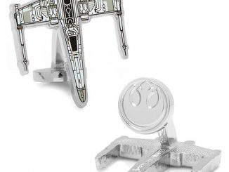 Star Wars X-Wing Starfighter Blueprint Cufflinks
