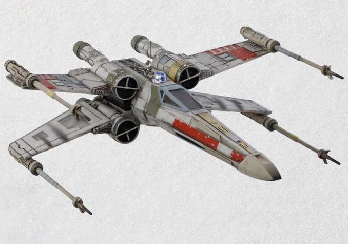 Star Wars X Wing Starfighter Ornament
