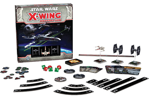 Star Wars X-Wing Strategy Board Game