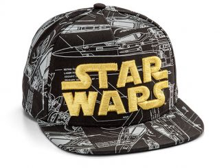 Star Wars X-wing Blueprint Hat
