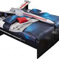 Star Wars X-wing Twin Bookcase Beds