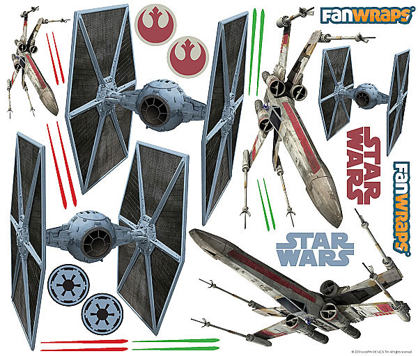 Star Wars XWing Car Graphics