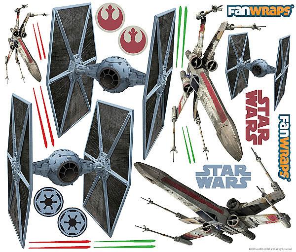 Star Wars XWing Car Graphics