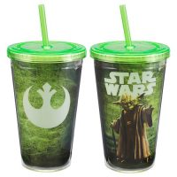 Star Wars Yoda 18 oz. Acrylic Travel Cup