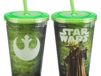 Star Wars Yoda 18 oz. Acrylic Travel Cup