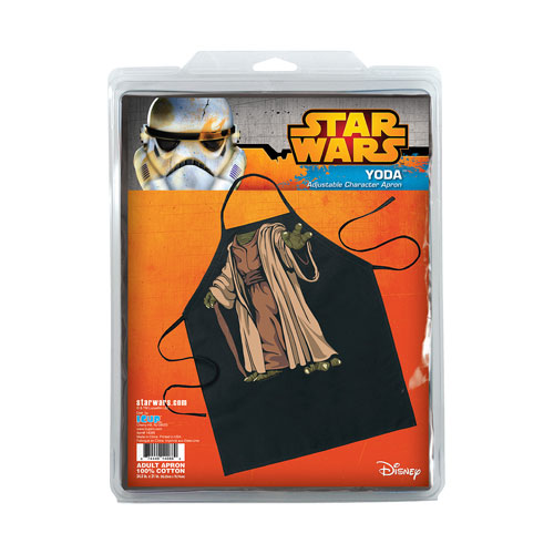 Star Wars Yoda Be The Character Apron