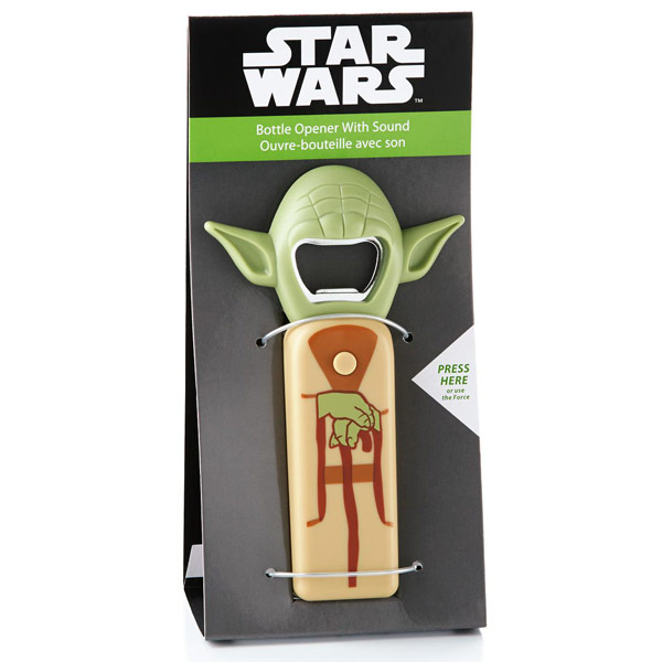 Star Wars Yoda Bottle Opener With Sound