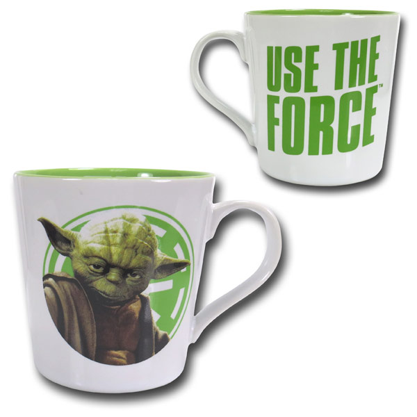 Star Wars Yoda Ceramic Mug