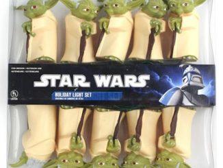 Star Wars Yoda Christmas Light Set