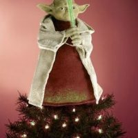 Star Wars Yoda Christmas Tree Topper