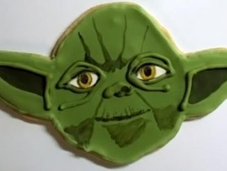 Star Wars Yoda Cookies