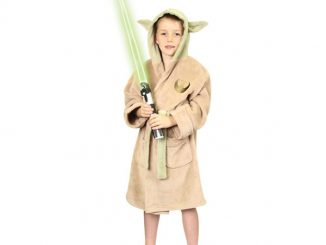 Star Wars Yoda Kids Bath Robe