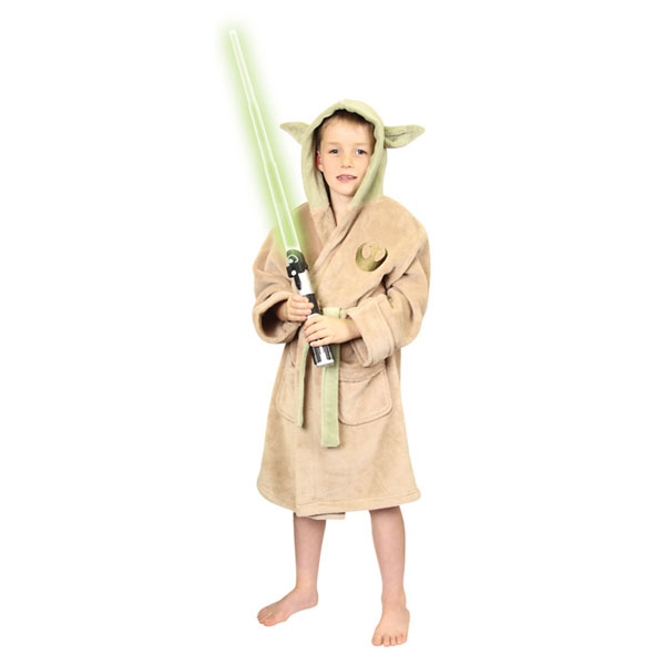 Star Wars Yoda Kids Bath Robe 1abbc6a50