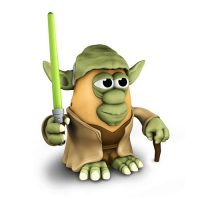 Star Wars Yoda Mr. Potato Head