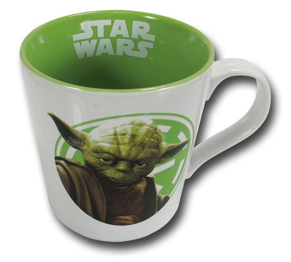star wars logo rim yoda oz ceramic mug