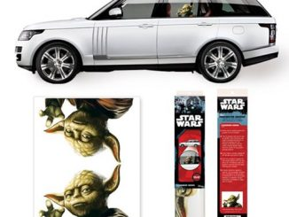 Star Wars Yoda Passenger Series Window Decal 2-Pack