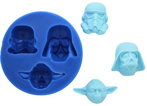 Star Wars Yoda Vader Stormtrooper Silicone Mold