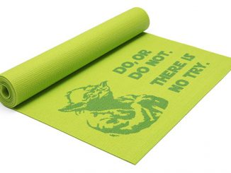 Star Wars Yoda Yoga Mat