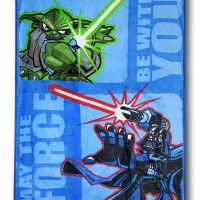 Star Wars Yoda and Darth Vader Blanket