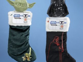 Star Wars Yoda and Darth Vader Christmas Stockings with Sounds