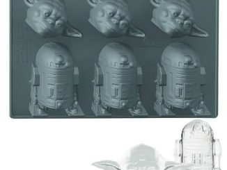 Star Wars Yoda and R2-D2 Ice Cube Tray